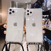 0488 LDacc Case Samsung A7 2018 sling case anti crack Bening case lany