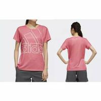 Baju olahraga running gym cewek bahan dryfit - Merah Muda, S