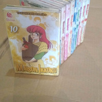 komik original takahashi rumiko ranma 1/2 Maison ikkoku 1-10 murah