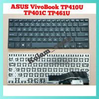 Keyboard Asus VivoBook TP410 TP410U TP410UA TP410UR H54T DS71 M51T