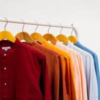 Tubico Long Shirt Available in 6 Color / kerah tegak / kerah shanghai