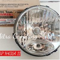 Reflektor / headlamp / Lampu Depan Yamaha Scorpio Lama bulat
