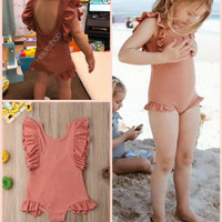 Baju renang bayi 1thn-5thn swimsuit bikini