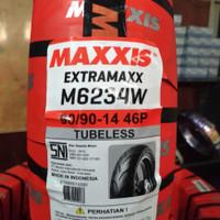 HARGA TERMURAH BAN MAXXIS EXTRAMAXX 90/90-14 M6234 TUBELESS