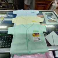 6 pcs Baju Bayi Kancing Depan Pendek Tara