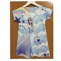 Dress anak frozen / baju frozen / frozen elsa