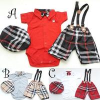 Baju bayi laki-laki setelan pesta/kondangan keren