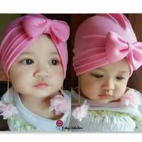 Turban bayi murah anting bunga mawar