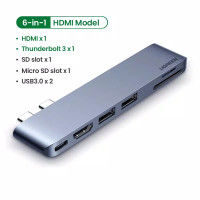 Ugreen 6in1 usb c to hdmi multi 3.0 PD TF SD new Macbook air pro 2020