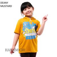 Baju Kaos Anak Cowok Cewek Lengan Pendek Hoodie Deany Murah