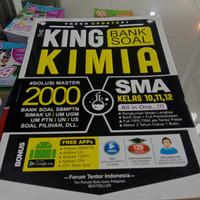 Buku KING KIMIA SMA KELAS 10,11,12 BANK SOAL
