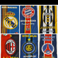 Handuk Mandi Motif Club Sepak Bola MU Juventus