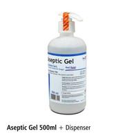 Aseptic Gel Antiseptic/Hand Sanitizer dispenser 500ml Onemed