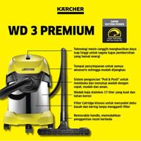Karcher WD 3 Premium Wet and Dry Vacuum Cleaner | WD3 | Penyedot Debu