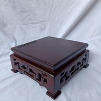 Meja cina ukir/ Meja cina tatakan patung dewa / meja tatakan guci