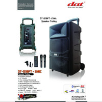 Speaker Aktif 12 Inch Portable DAT DT 1210FT 12 Inch