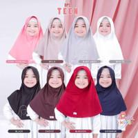 Jilbab serut anak Bergo BPL teen Miulan kerudung sekolah SD 7-10th