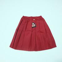 Rok Seragam Sekolah SD Merah Pendek