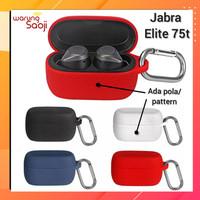 Casing Jabra Elite Active 75t Case Cover Silicone anti licin carabiner