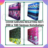 Cover/ Sarung Kasur Busa No: 1 (200 x 180) tebal bervariasi