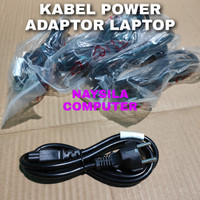 kabel power adaptor laptop 3 lubang - Kabel power laptop Kabel adaptor