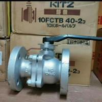 Ball Valve KITZ cast iron FCTB Flange JIS 10K size 2 inchi
