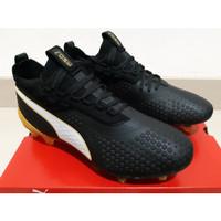 Sepatu Bola Puma The ONE 1 Black Gold