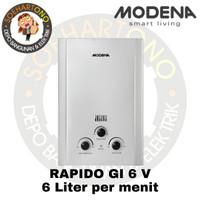 Modena Rapido GI 6 V Water Heater 6 Liter per menit - Pemanas Air