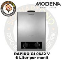 Modena Rapido GI 0632 V Water Heater 6 Liter per menit - Pemanas Air