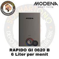 Modena Rapido GI 0620 B Water Heater 6 Liter per menit - Pemanas Air