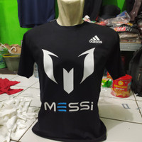 kaos t-shirt baju messi / kaos olahraga sepak bola