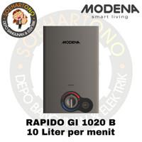 Modena Rapido GI 1020 B Water Heater 10 Liter per menit - Pemanas Air