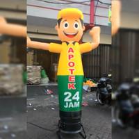 balon sky dancer   Balon Boneka Promosi   BalonJoget