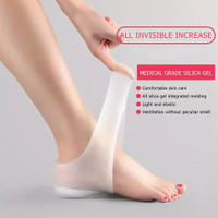 Height Lifting Increase Silicone Gel Lift Insoles
