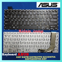 Keyboard Laptop ASUS A407 A407M A407MA A407U A407UA A407UB A407UF A405