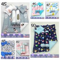 Set Perlengkapan Tidur Bayi Bed Cover Set Bantal Bayi