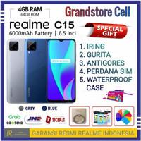 REALME C15 RAM 4/64 GB GARANSI RESMI REALME INDONESIA