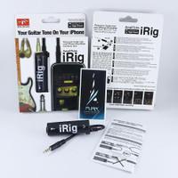 iRig untuk efek gitar / soundcard di iPhone / iPad