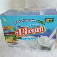 susu kambing etawa al ghonam plus herbal kemasan sachet
