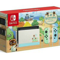 NINTENDO SWITCH V2 LIMITED EDITION ANIMALCROSSING NEW HORIZONS (NOGAME