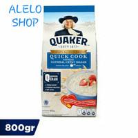 Quaker oatmeal quick cook 800 gr oat oats BIRU sereal gandum havermut