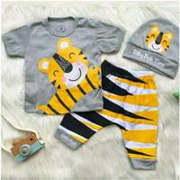 Baju Anak Bayi Laki - Kaos Bayi Cowok - Setelan Baby Boy Murah -coo - 18-24 Bulan