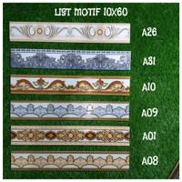 Plint List Keramik 10x60