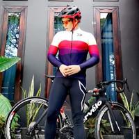 jersey sepeda dan baju sepeda pria dan wanita tangan panjang 4