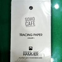 Kertas Kalkir Tracing Paper F4 HAMMER