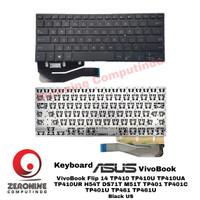 Keyboard Asus VivoBook Flip 14 TP410 TP410U TP410UA TP410UR H54T DS71T