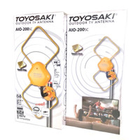 Antena TV Toyosaki AIO 200 SC | Indoor Outdoor Analog Digital FULL HD