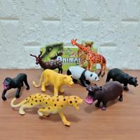 Mainan Miniatur Hewan Ternak Bahan Karet
