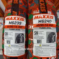 Ban Luar Maxxis Semi Compound Trail Cross 80/90-14, 90/90-14 Matic