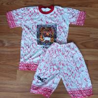 Baju Kaos Dan Celana Barong Bali Ukuran XXL anak usia 9 - 13 tahun